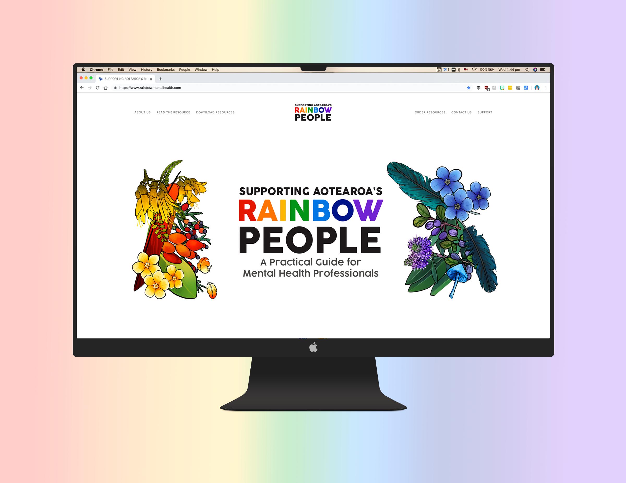Supporting Aotearoa's Rainbow People