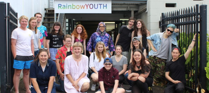 RainbowYOUTH does Trans Day of Visibility 2018