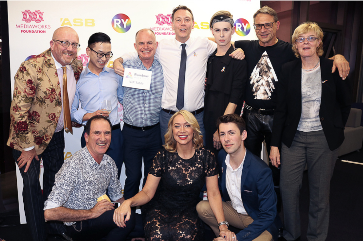 25K Raised For RainbowYOUTH At Charity Gala